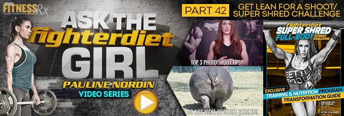 Ask The Fighter Diet Girl Pauline Nordin – Video 42