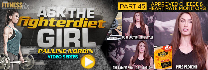 Ask The Fighter Diet Girl Pauline Nordin – Video 45