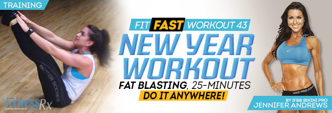 Fit Fast New Year Workout