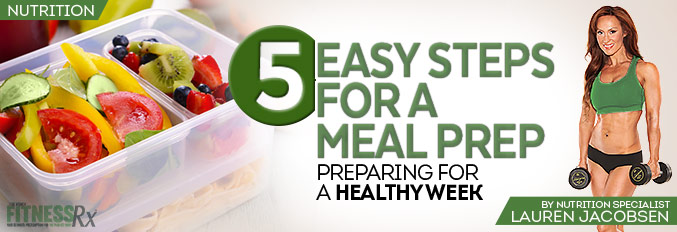 5 Easy Steps for a Meal Prep