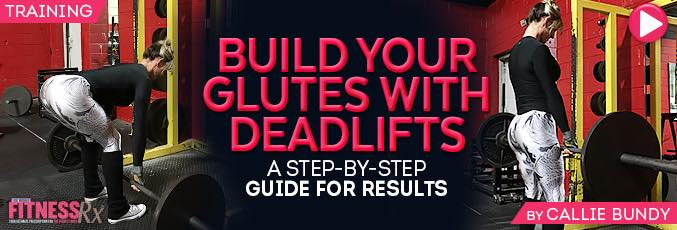 Build Your Glutes with Deadlifts