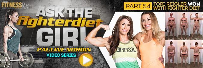 Ask the Fighter Diet Girl Pauline Nordin – Video 54