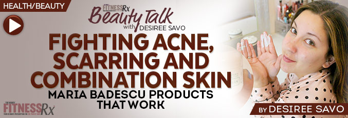 Fighting Acne, Scarring And Combination Skin