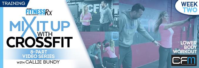 Mix It Up With Crossfit – 8 Part Video Series – Video 2