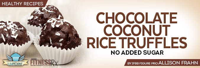 Chocolate Coconut Rice Truffles