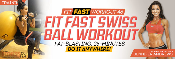 Fit Fast Swiss Ball Workout