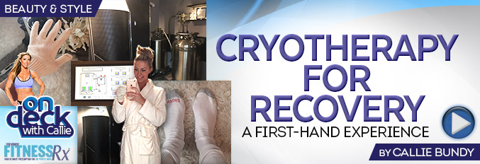 Cryotherapy for Recovery