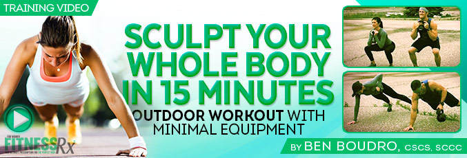 Sculpt Your Whole Body In 15 Minutes