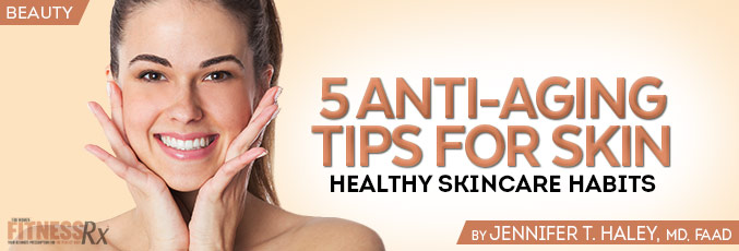 5 Anti-Aging Tips for Skin