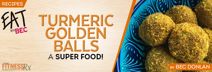 Turmeric Golden Ball