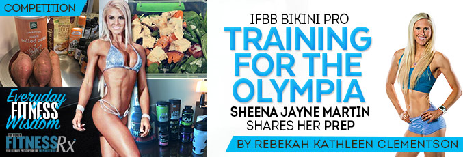 IFBB Bikini Pro Training for Olympia
