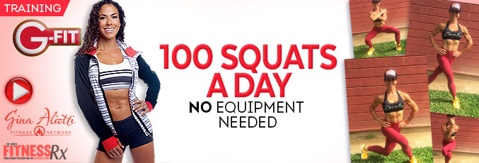 100 Squats a Day