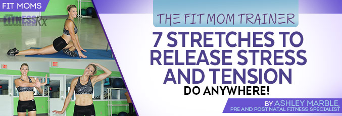 7 Stretches To Release Stress