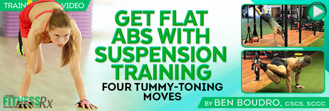 Get Flat Abs with Suspension Training