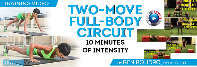 Two-Move Full-Body Circuit