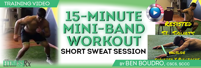 15-Minute Mini-Band Workout