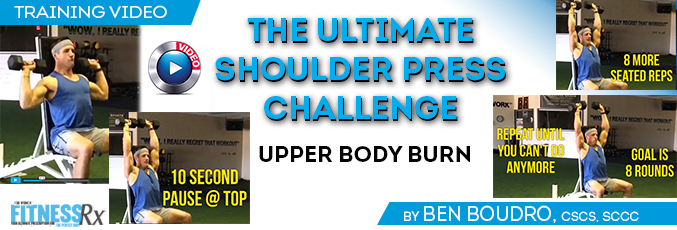 The Ultimate Shoulder Press Challenge