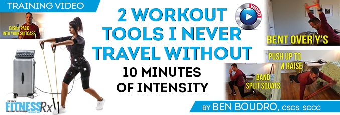 2 Workout Tools I Never Travel Without