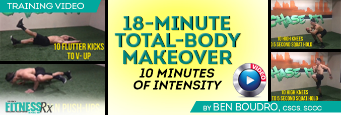 18-Minute Total-Body Makeover