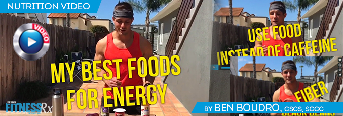 Power Up With Energy Foods
