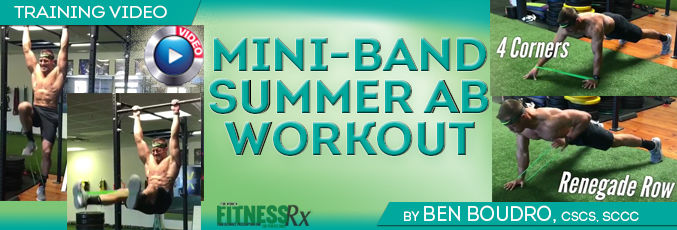 Mini-Band Summer Ab Workout