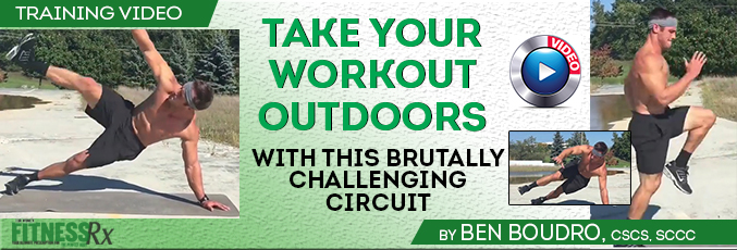Take Your Workout Outdoors