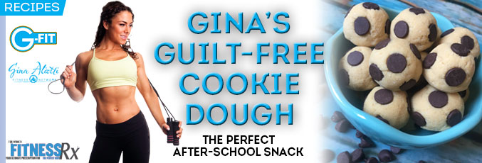 Gina's Guilt-Free Cookie Dough
