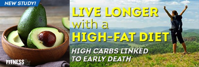Live Longer With a High-Fat Diet