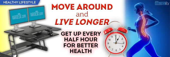 Move Around and Live Longer