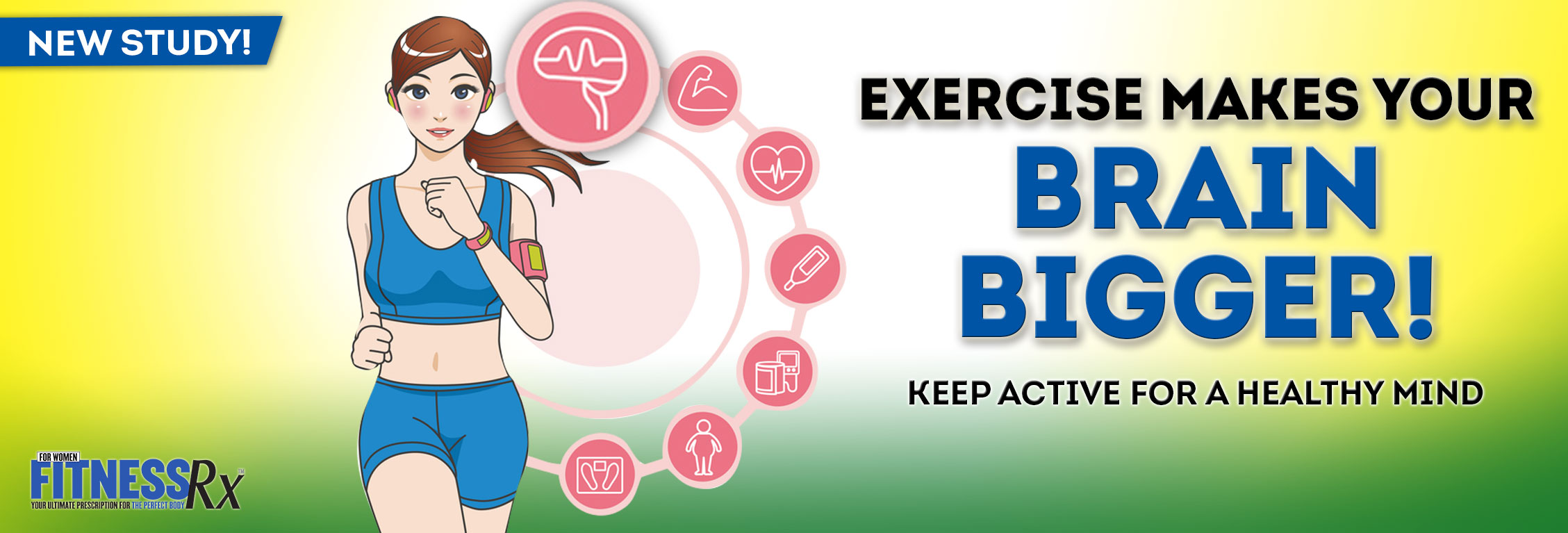 Exercise Makes Your Brain Bigger