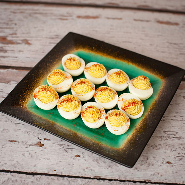 Gina Aliotti's Healthy Easter Deviled Eggs - Simple Holiday Recipe That's Guilt Free