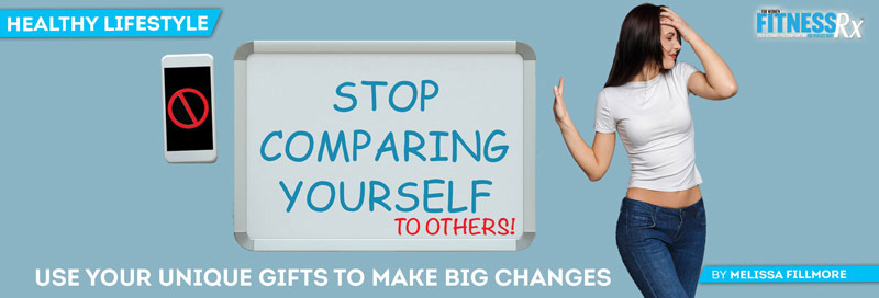 Stop Comparing Yourself to Others!